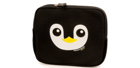Black Penguin Ipad Cover2